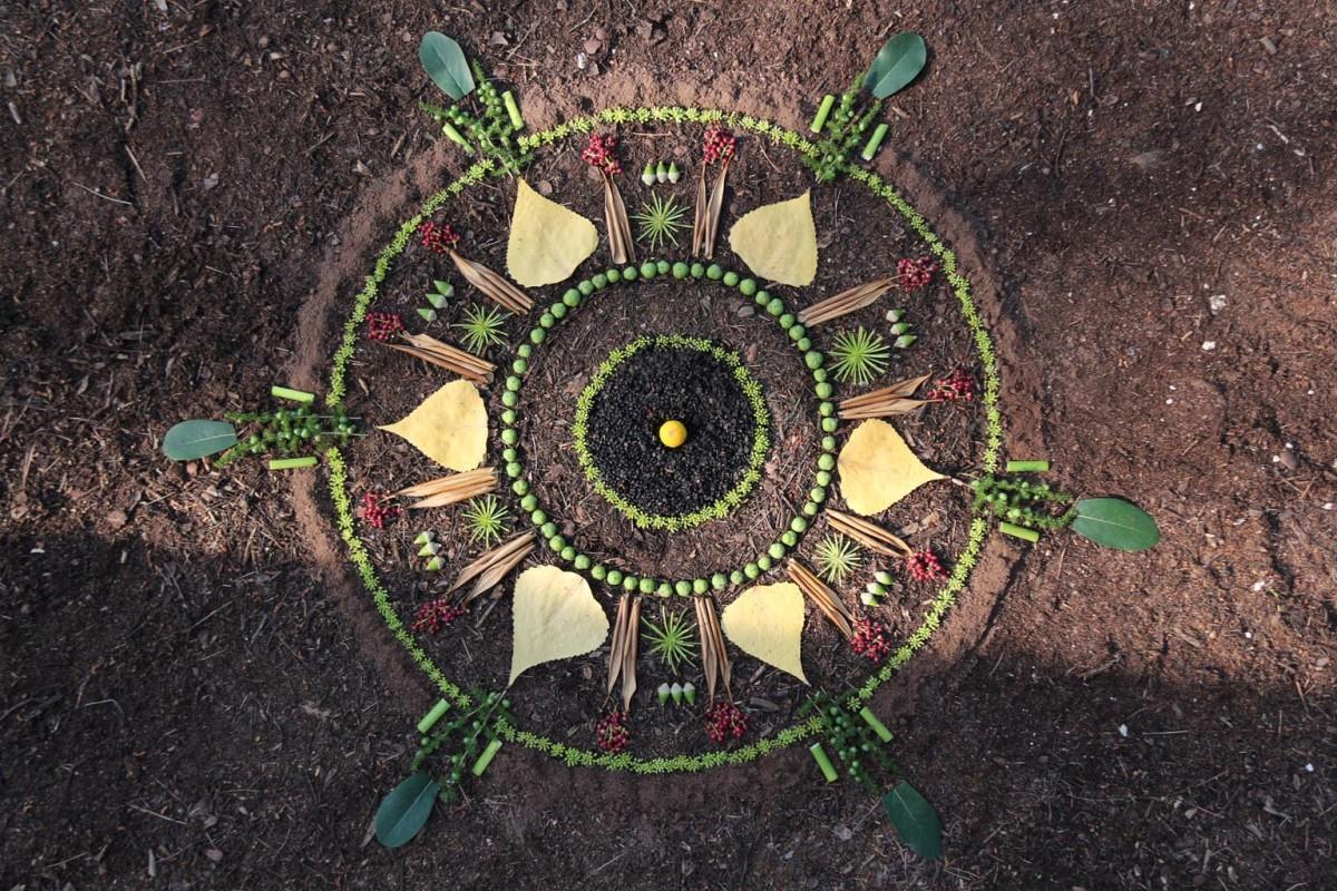 Landart06-AC-Lérins Mandala
