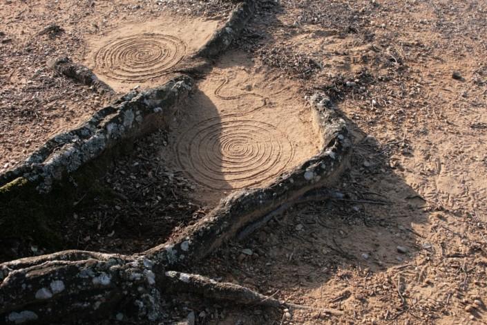 Landart06-PO-St cassien spirales 1