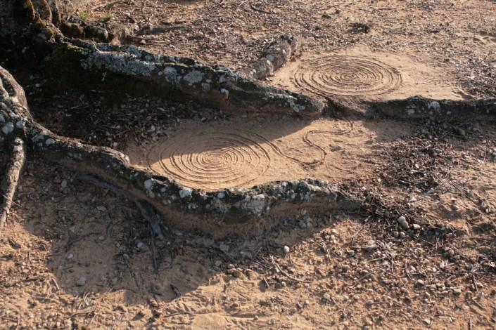 Landart06-PO-St cassien spirales 2